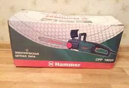 Продам новую цепную электропилу Хаммер срр 1800А
