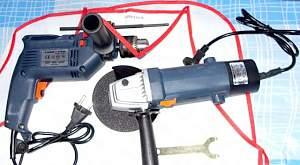 Универсальный подарок-набор электроинструмента 2в1