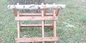 Козел складной для пилки дров в Москве