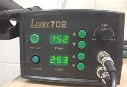 Паяльная станция Lukey 702