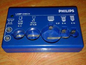 Прибор для проверки ламп