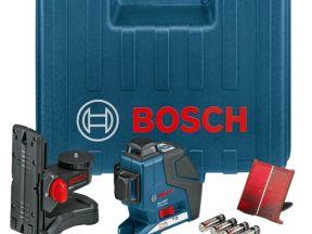 Построитель плоскостей Bosch GLL 3-80P (комплект)