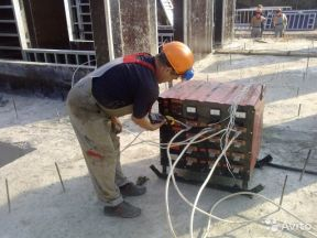 Установка прогрева бетона 63квт до 40м3 на сутки