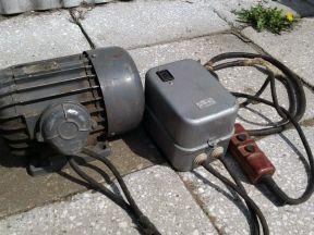 Трехфазный асинхронный эл.двигатель 1,4кВт