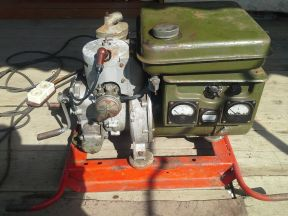 Военный бензогенератор 2 киловата
