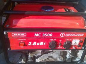 Генератор бензиновый maxcut MC3500