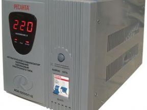 Стабилизатор Ресанта мощностью 10 кВт