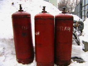 Газовый баллон 50 литров (Пропан)