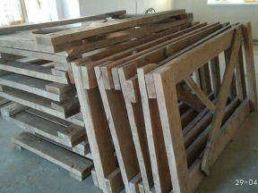 Леса строительные деревянные