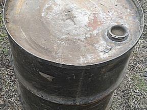Бочка толстостенная металлическая 200 л