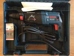 Лобзик Bosch GST-150BCE и перфоратор Bosch 2-24DF