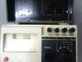 Измеритель сопротивления заземления М416