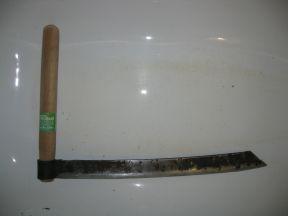 Колун плотницкий таежный для изготовления доски