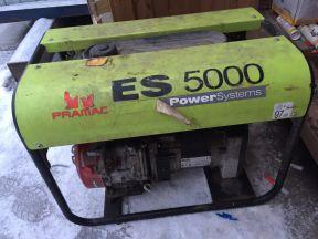 Генератор бензиновый, Электростанция Pramac ES 500