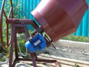 Бетоносмесители (бетономешалки) 120-250 литров