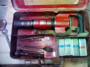 Монтажный пороховой пистолет пц 84