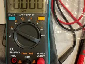 Компактный цифровой мультиметр richmeters RM101