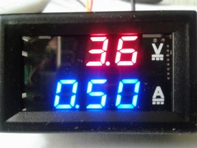 Цифровой вольтметр амперметр 100В. 10А