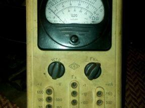 Мультиметр советский