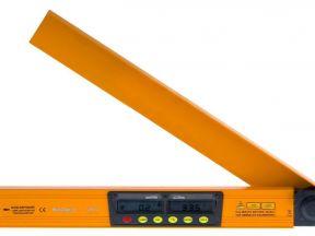 Электронный уровень-угломер с лазером