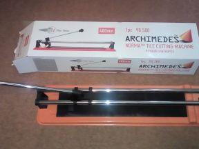 Плиткорез ручной Archimedes - новый