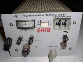 Блок язч-87 к частотомеру Ч3-54