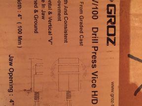 Тиски Groz DPV/100