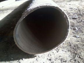 Резиновый рукав для всасывания воды и грязи