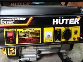 Электрогенератор huter