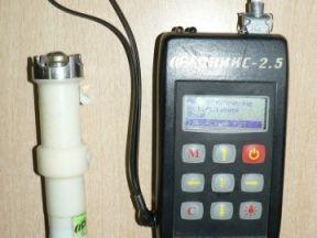 Измеритель прочности строит. материалов оникс-2.51