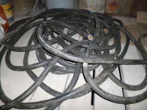 Резиновый кабель кгэ-хл 3х50+ 1х16 35 метров