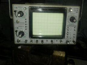 Осциллограф и генератор сигналов нч