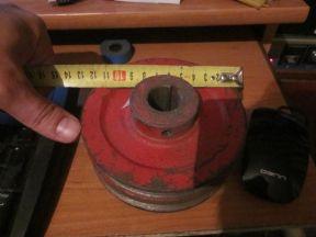 Шкив клиновой 120/2 D22 мм