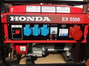 Бензиновый генератор Хонда EX 5500