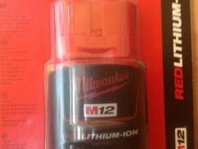 Milwaukee Ак-ры 12-18v и 28V