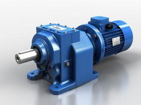 Мотор редуктор цилиндрический
