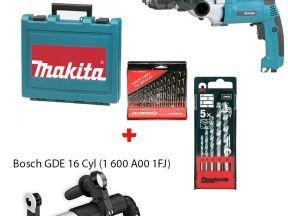 Двухскоростная ударная дрель Makita HP2051F(новая)