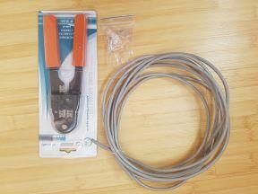 Инструмент клещи зачистки и обжима кабеля RJ-45