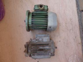 Электродвигатели асинхронные 120 и 250 Вт