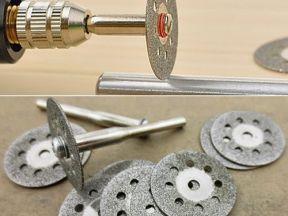 Алмазные диски для дремеля и бор-машинок
