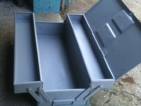 Ящик для инструмента металлический раскладной