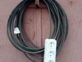 Электрический удлинитель силовой 6 кВт 30А