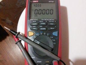 Цифровой мультиметр lini-T UT71D