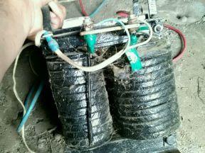 Мощный сварочный трансформатор на 220В перем. тока