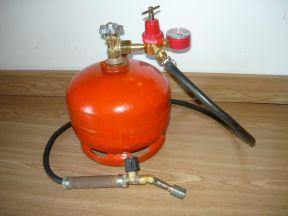 газовую горелку