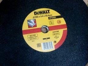 Диск отрезной по металлу Dewalt DT 3450