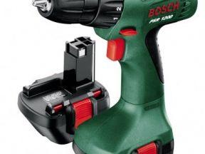 Дрель-шуруповерт Bosch PSR 1200 сборка Малайзия