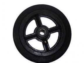 Колесо большегрузное обрезиненое d200/160/125мм