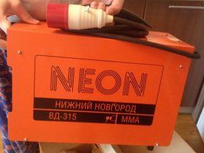 Сварочный аппарат сварочник инвертор накс неон
