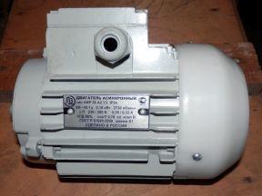 Электродвигатель 0,18 кВт 3000 об/мин лапы, фланец